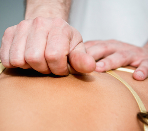 Spine and lower back pain